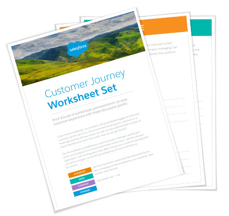 Customer Journey Worksheet Set
