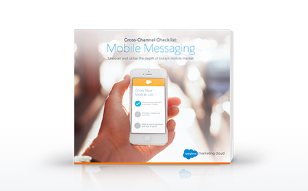 Cross Channel Checklist: Mobile Messaging