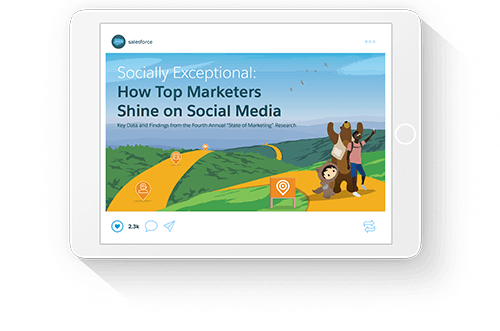 Socially Exceptional: How Top Marketers Shine on Social