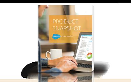 Social Studio Product Snapshot