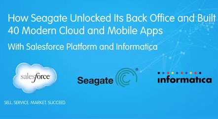 How Seagate unlocked its back office data