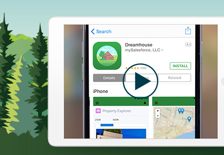 Create your own branded mobile app — and build brand loyalty — with mySalesforce.