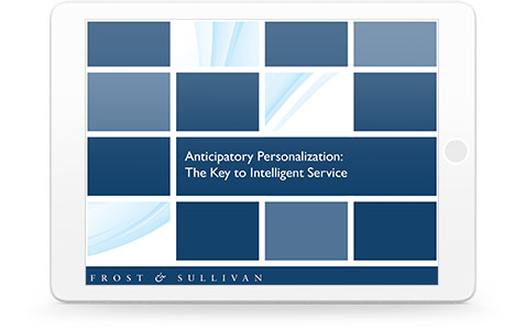 Anticipatory Personalization: The key to Intelligent Service