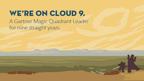 We're on Cloud 9