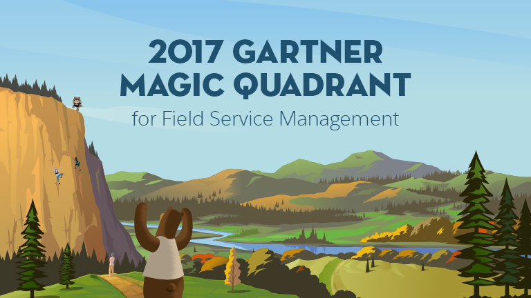 Thank you for your interest in Salesforce And the Gartner Magic Quadrant for Field Service Management
