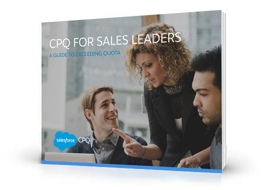 CPQ for Sales Leaders e-book