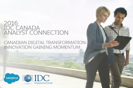 2016 IDC Canada Analyst