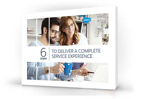 6 steps to deliver a complete service experience