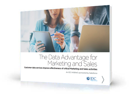 The Data Advantage for Marketing and Sales