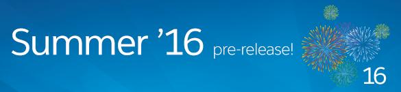 Summer '16 pre-release