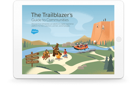 Blaze new trails with Salesforce Community Cloud.