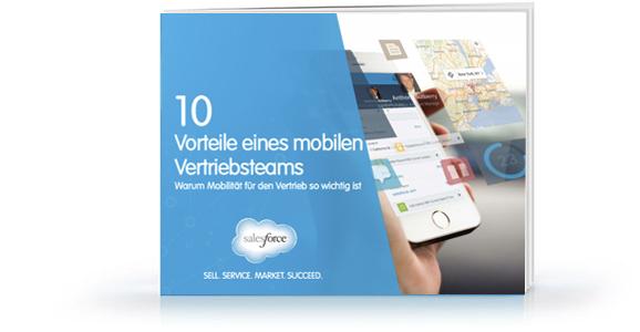 E-Book: 10Vorteile eines mobilen Vertriebsteams