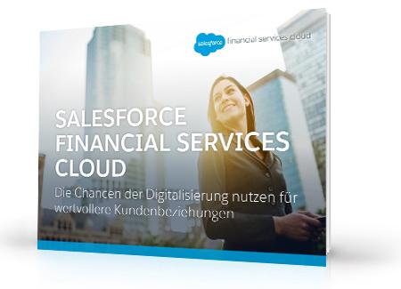 Salesforce Financial Services Cloud – 3 Core Advantages (Salesforce Financial Services Cloud – 3 zentrale Vorteile)
