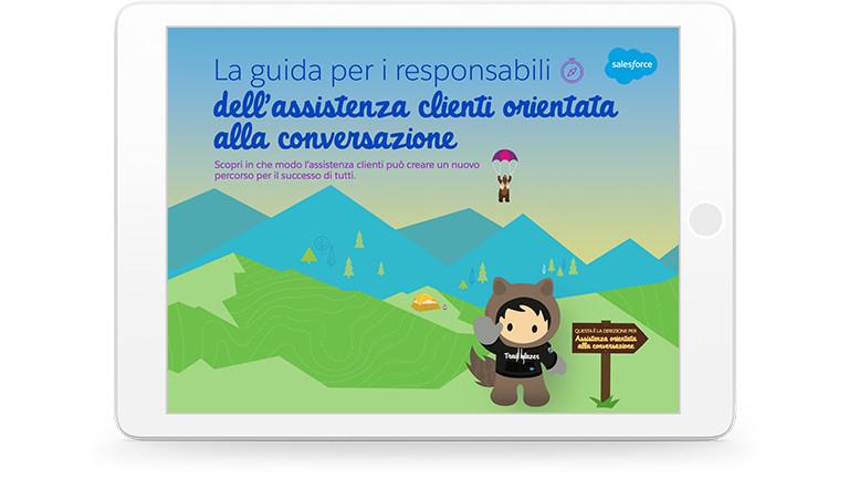 Salesforce per il settore assistenza