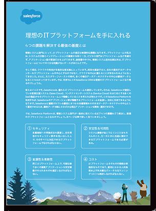 eBook 「理想のITプラットフォームを手に入れる 4つの課題を解決する最強の基盤とは」