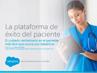 La plataforma de exito del paciente