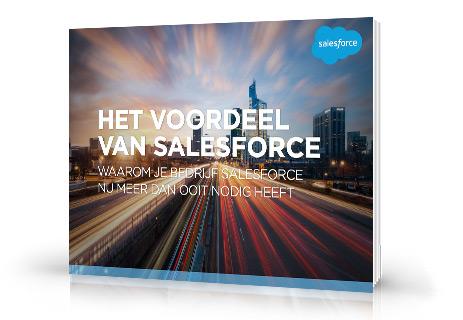 Het voordeel van Salesforce