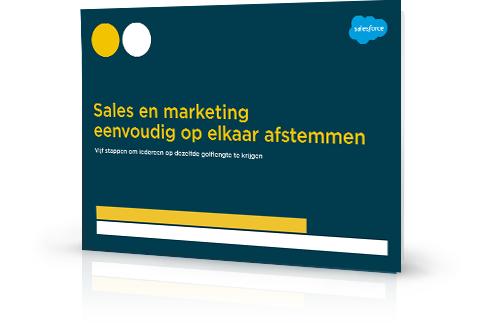 Sales en marketing eenvoudig op elkaar afstemmen: vijf stappen naar succes